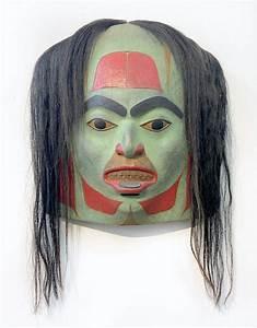 Artist, Beau, Dick, U2019s, Carved, Masks, Blend, Traditional, Kwakwaka
