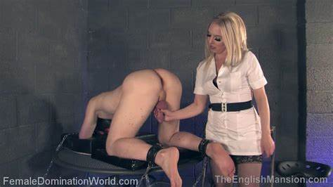 Swinger Doms Milk Cabinet Slave With Gloves