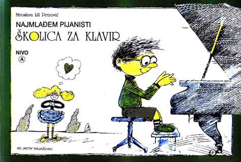 M. Lili Petrović: ŠKOLICA ZA KLAVIR nivo A - Stringer Novi Sad