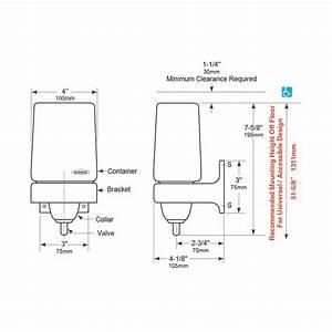 Bobrick Classic Liquidmate Wall Soap Dispenser B