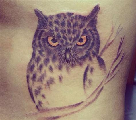 foto de 25 Eulen Tattoos Es ist ein Symbol der Weisheit