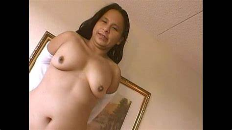 Native Chunky Chick Dancing Nude