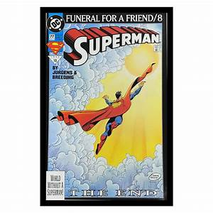 Superman  Funeral For A Friend No  8   Black Panther  Klaw