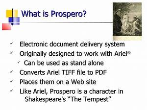 prospero a web based document delivery system With electronic document delivery software