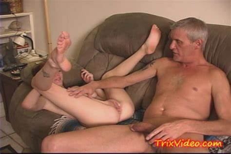 Lonely Stepdaughter Seduces Neighbors Mature Male