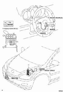 Lexus Rx 400h Cruise Control Switch  Switch  Cruise