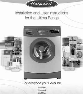 Hotpoint Wma64 Users Manual