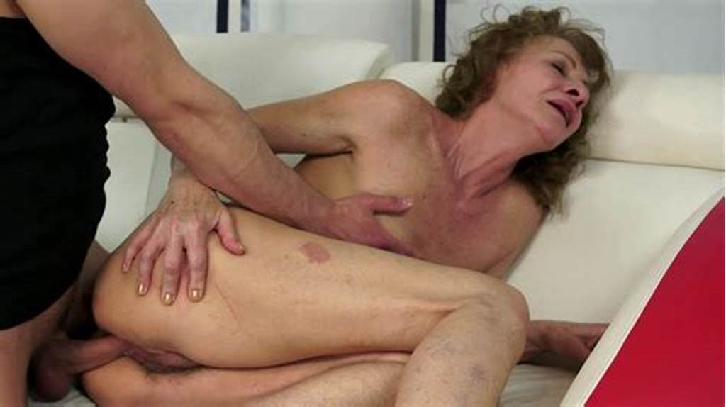 #A #Hairy #Granny #That #Loves #Young #Cock #Is #Getting #Fucked