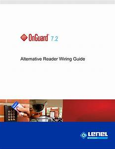 Alternative Reader Wiring Guide