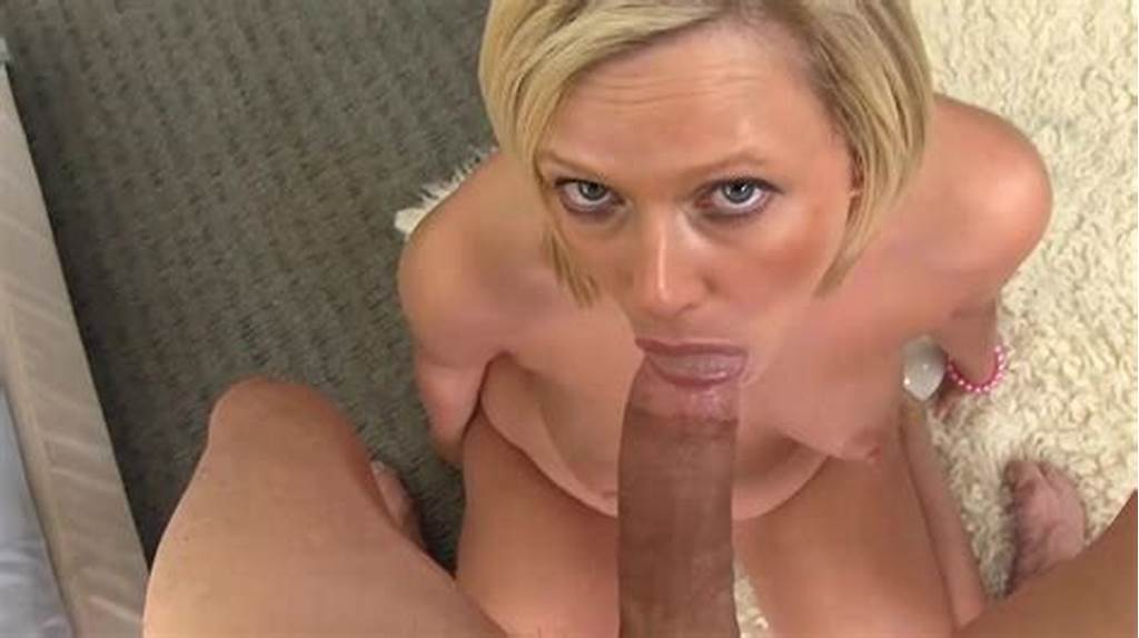 #Blonde #Milf #Blowjob #And #Cum #Swallow