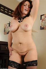 Brunette mature sexy model
