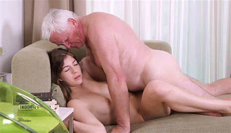 Old Dad And Unbelievable Life Brunette tumbex