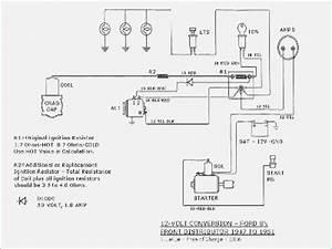 Ferguson Tractor Wiring Diagram 12 Volt