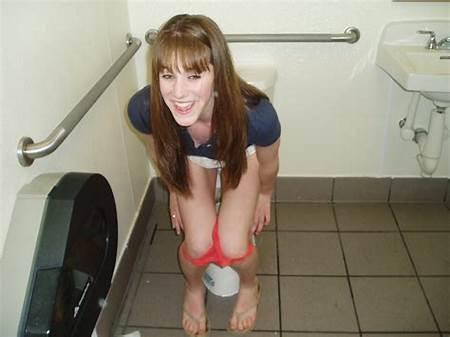 Nude Girls Urinal Teen