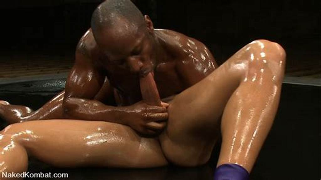 #Black #Guy #Covered #In #Oil #Suck #Cock #And #Fuck