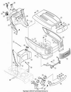 Troy Bilt 13bx60tg766 Super Bronco  2007  Parts Diagram