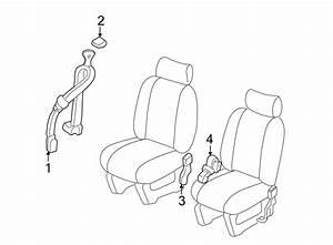 Pontiac Montana Seat Diagram