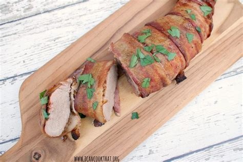 (this is not a typo.) line a casserole or small baking dish with aluminum foil for easy cleanup, if desired. Pork Tenderloin Wrapped On Tin Foil In Oven : The Best Baked Garlic Pork Tenderloin Recipe Ever ...