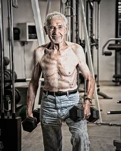 90 Year Old Weight Lifter Photograph By Gray Kinney