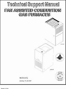 Icp Ntn6125kja2 Furnace Technical Support Manual Pdf View