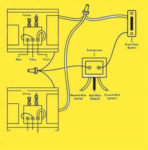 Doorbell Wiring Diagram 2 Bells