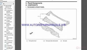 Subaru 2015 Legacy  U0026 Outback Body Repair Manual