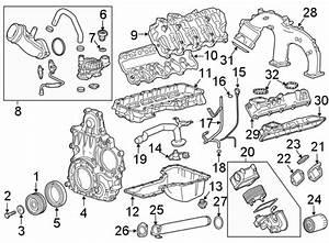 Chevrolet Silverado 2500 Hd Engine Crankshaft Pulley  2017