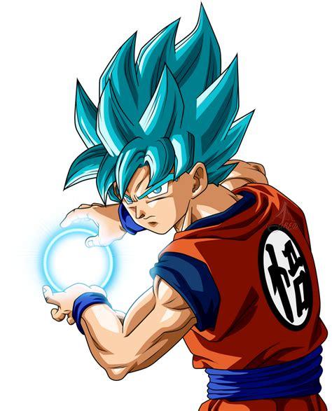 Son Goku Ssj Blue Power by jaredsongohan on DeviantArt en