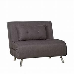 Canapé But Convertible : chauffeuse 1 place convertible murphy par drawer ~ Teatrodelosmanantiales.com Idées de Décoration