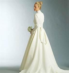 Coudre sa robe de mariee plumetis magazine for Patron de robe de mariée