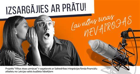 VILTUS ZIŅAS UZMĀCAS (arhīvs) | Radio SWH