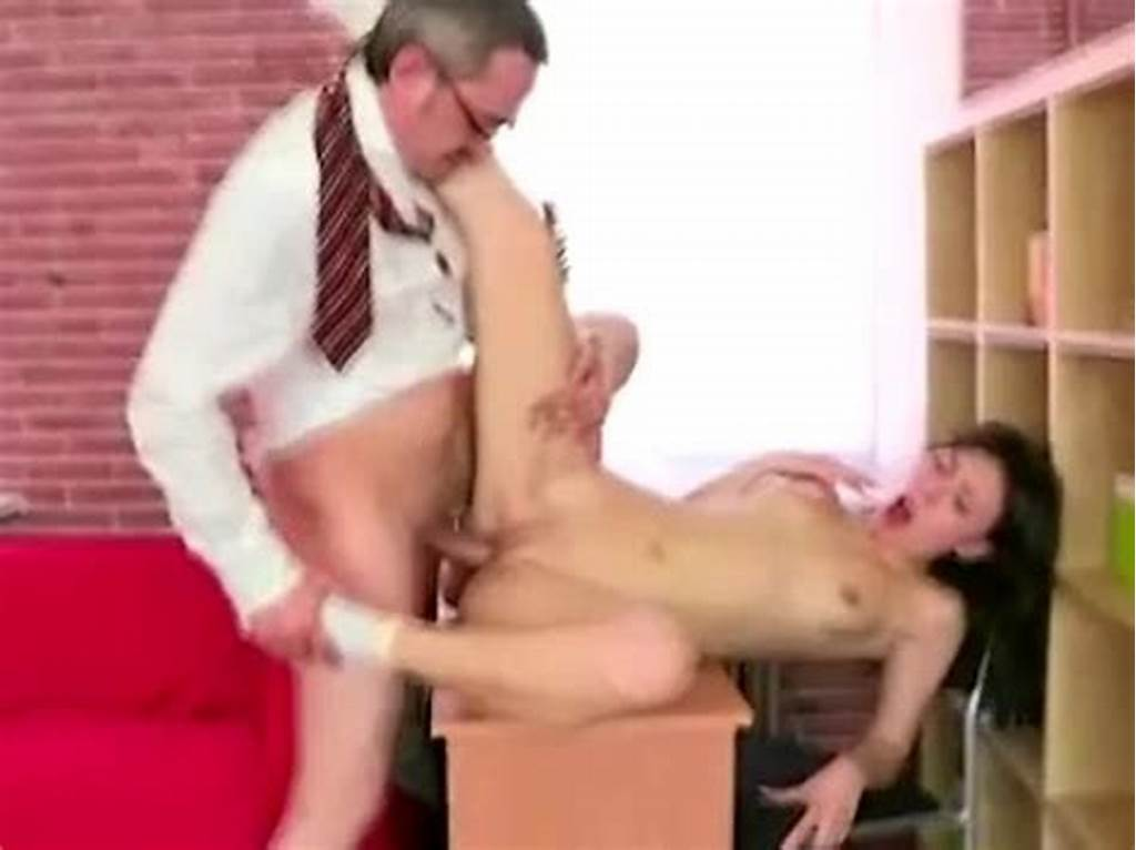 #Cute #Teen #Student #With #Shaved #Pussy #Gets #Seduced #By #Her