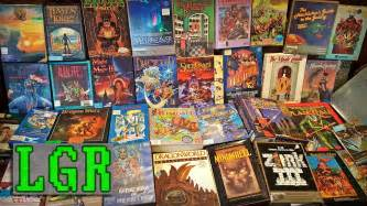 Check out the gameplay vids on each product page. LGR - My Best Retro PC Game Haul? Probably! - YouTube
