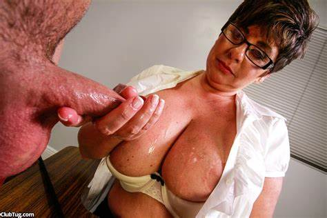 Milf Jerks A Rough Dick Off
