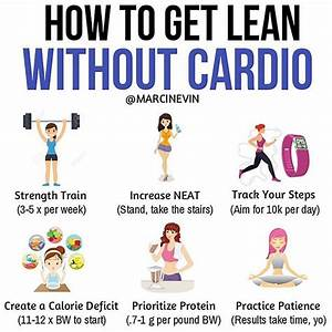 How To Get Lean Without Cardio