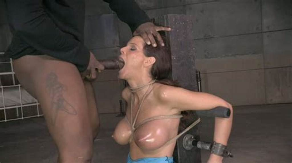 #Black #Horny #Man #Mouth #Fucks #Tied #Up #White #Hooker #Rough