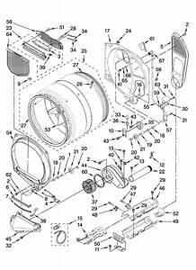 Kenmore Elite 11087721700 Dryer Parts