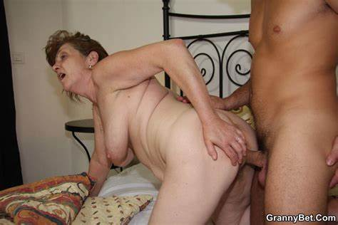 Teenage Plumper Granny With Large Butts Plays Cock