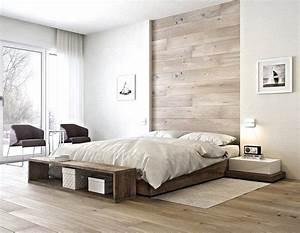 Chambre adulte blanche 80 idees pour votre amenagement for Décoration chambre adulte avec maison de la literie matelas treca
