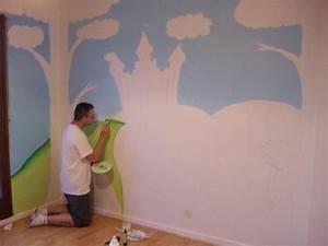 peinture murale couleur pastel 7 peinture mur chambre With peinture mur chambre bebe