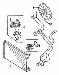 2002 Audi A4 Avant Radiator Coolant Hose  1 8 Liter  1 8
