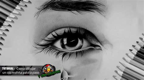 Como dibujar un ojo realista y pestañas paso a paso bien