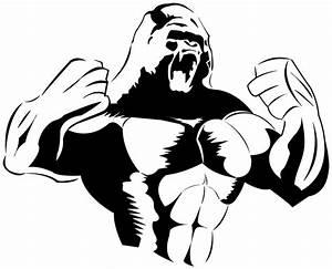 gorilla silhouette - Google Search | Brick Paving ...