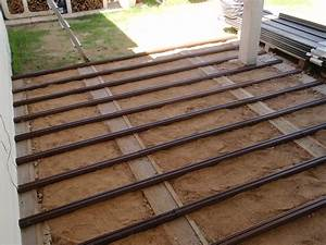 Pose Lame Composite : pose lambourde terrasse composite ~ Premium-room.com Idées de Décoration