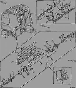 Lower Gate Roll  Belt Guides And Scraper  B19