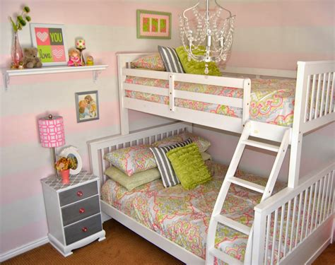 Little Girl Room Ideas With Bunk Beds Bedroom Review Design