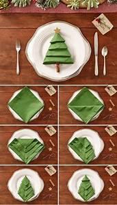 Servietten Falten Weihnachtsbaum : wie eine serviette das sch nste auf deinem weihnachtstisch ~ A.2002-acura-tl-radio.info Haus und Dekorationen