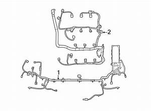 Lincoln Mkt Engine Wiring Harness  3 5 Liter Non Turbo  3