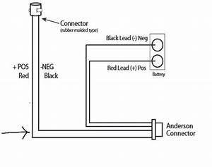 D6114 Salt Spreader 24 U0026 39  Power Cable Snowex Sp