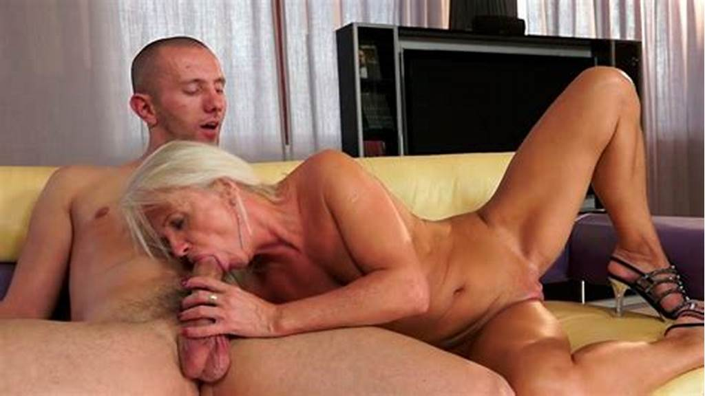 #Horny #Granny #Is #Fucking #Passionately #On #A #Couch #In #Old